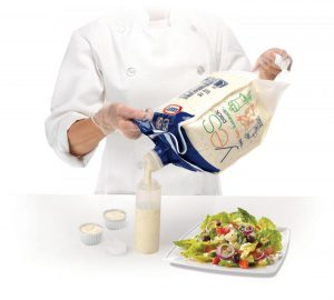Flexible Packaging for Salad Dressing