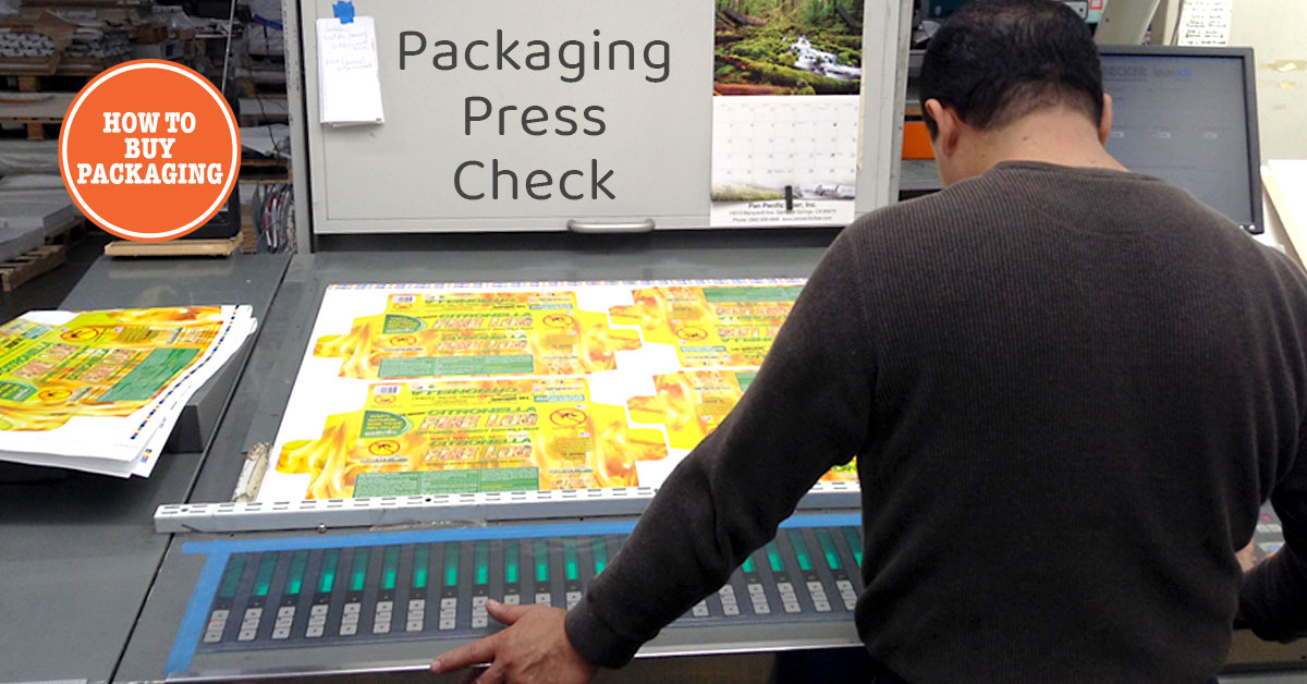 Packaging press check