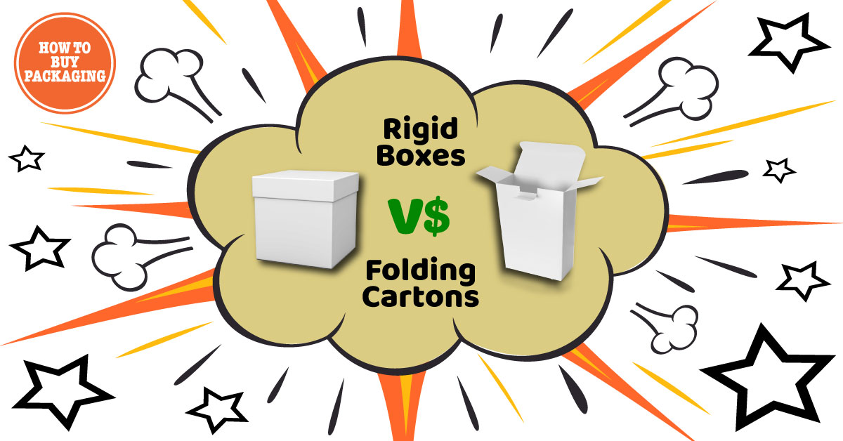 Rigid Boxes vs Folding Cartons - Considering the Overall Expenses